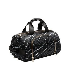 Black Straps Nylon Backpack